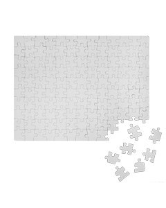 130 Piece Rectangle Cardboard Jigsaw Puzzle