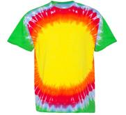 Unisex Gildan Bullseye Tie-Dye T-Shirt