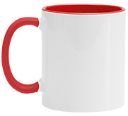 Coastal Business Supplies 11oz Two Tone Ceramic Coffee Mug