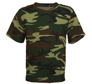 Code Five Youth Camouflage Tee