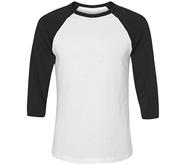 Unisex 3/4 Sleeve Raglan T-Shirt