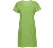 LAT Apparel Ladies Relaxed Fit V-Neck Coverup Dress