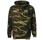 Code Five Unisex Camouflage Heavyweight Hoodie