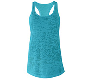 Fitted Burnout Racerback Tank