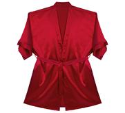 RobeMart Satin Kimono Short Robe