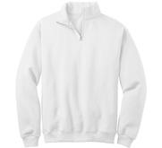 JERZEES Unisex Cadet Collar Sweatshirt