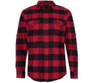 Burnside Unisex Long Sleeve Plaid Flannel Shirt