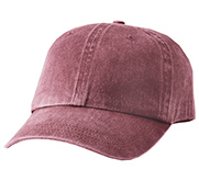 Pigment Dyed Twill Baseball Hat