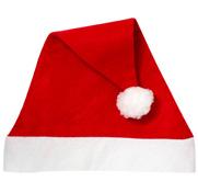 Century Novelty Personalized Red Felt Holiday Santa Hat