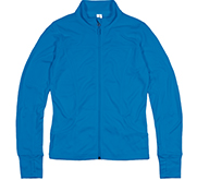 Independent Trading Co Women's Poly-Tech Full-Zip Track Jacket