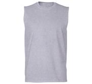 Unisex Cotton Sleeveless T-Shirt