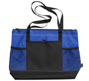Gemline Gemline Select Zippered Tote Bag