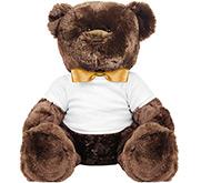 Printed by eRetailing 14 Inch Teddy Bear Stuffed Animal