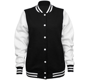 Sport-Tek Ladies Fleece Letterman Varsity Jacket