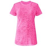 Junior Fit Misses Burnout T-Shirt