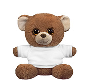 Steven Smith 7.5 Inch Oogles Brown Bear Stuffed Animal