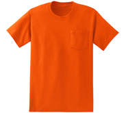 Fruit of the Loom Unisex Midweight Cotton Pocket Tee