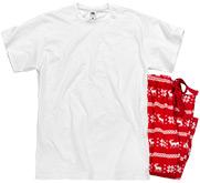 Fruit of the Loom Unisex Pajama Set
