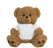 Printed by eRetailing 8 Inch Teddy Bear Stuffed Animal