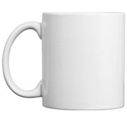 Johnson Plastics 11oz Ceramic Coffee Mug