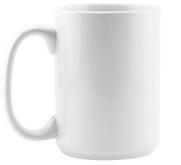 Johnson Plastics 15oz Ceramic Coffee Mug