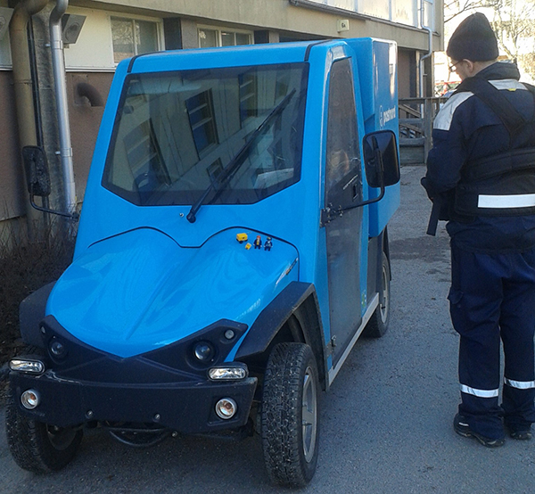 The Little Mail Carriers in Uppsala, Sweden