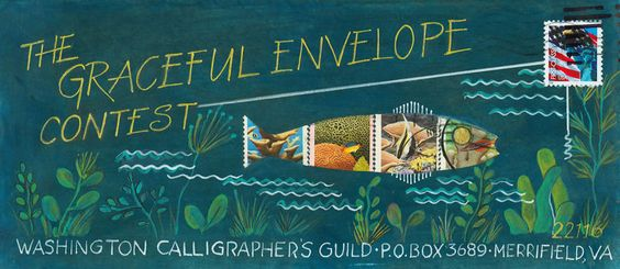 Graceful Envelope Contest — Linae Frei