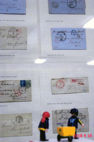 The Little Mail Carriers at the National Postmark Museum