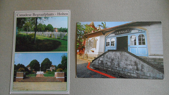 Holten and Taiwan postcards