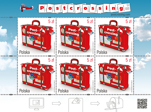 Polish Postcrossing stamp