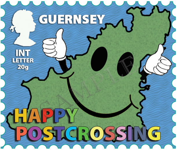Guernsey Postcrossing Stamp!