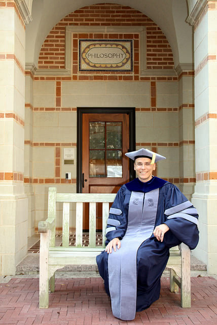 Rainer s PhD graduation at Rice University in Texas in 2016