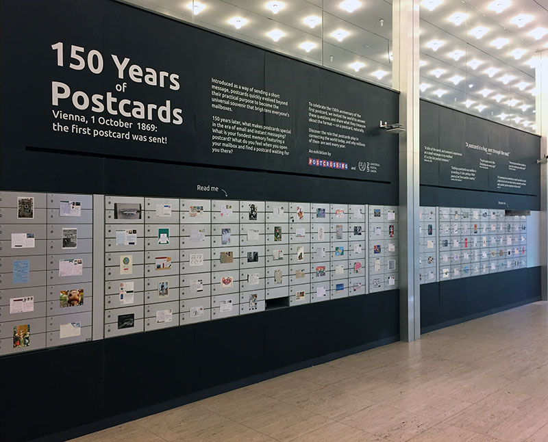150 years of postcards