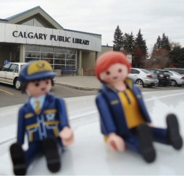Let's visit Calgary's public library!