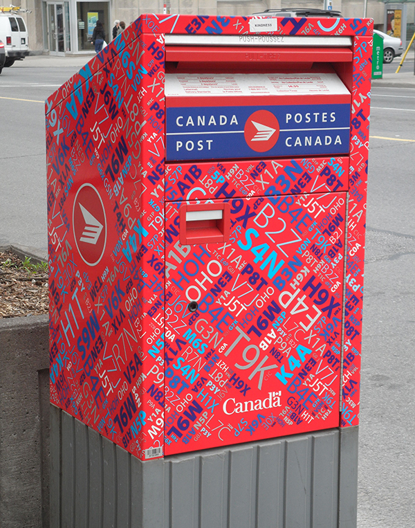 Canada postbox