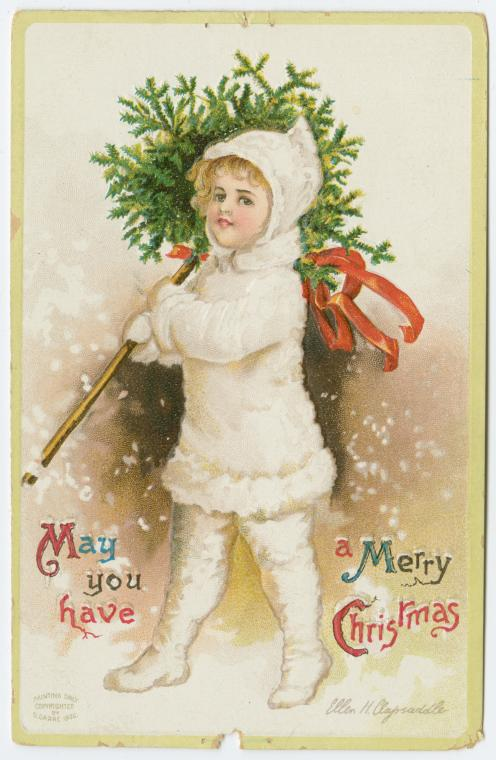 May you have a merry Christmas... Digital ID: 1585966. New York Public Library