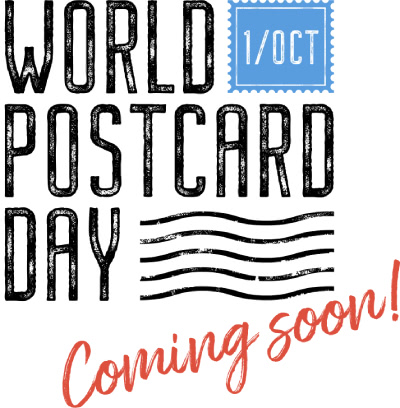 World Postcard Day - coming soon!