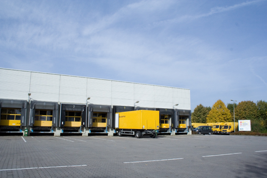 Deutsche Post mail sorting center