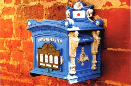 Old German postbox