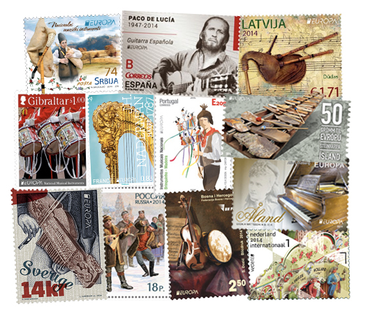 europa stamps2014