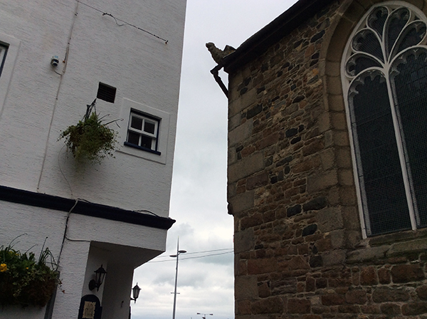 Town Church gargoyle