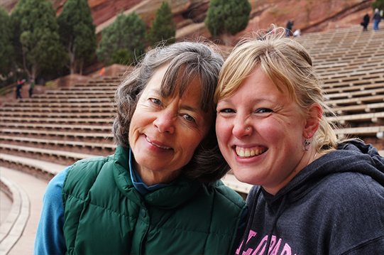 Blkbird and Totosdawn at the Red Rocks Amphitheatre