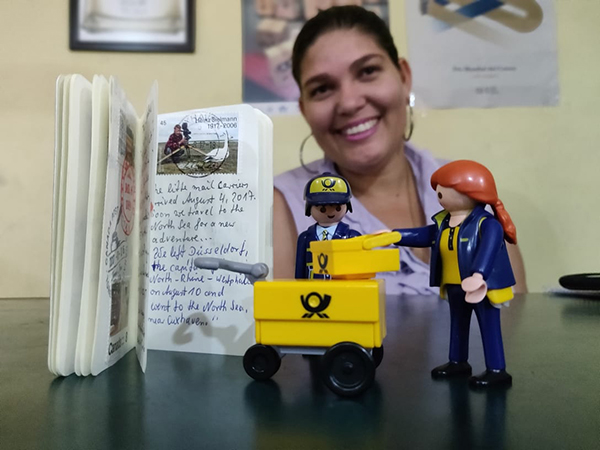 The Little Mail Carriers visit Dominican Republic!