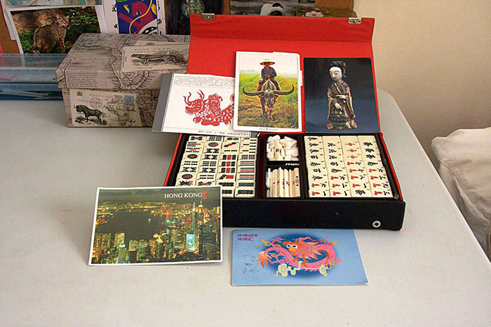 Mahjong play set