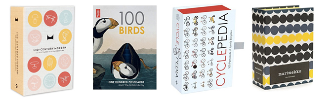 cookery postcards from penguin 100 cookbook covers in one box