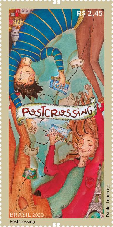 selo postcrossing brazil
