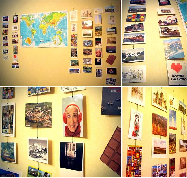 AnnSmailikova's wall of postcards