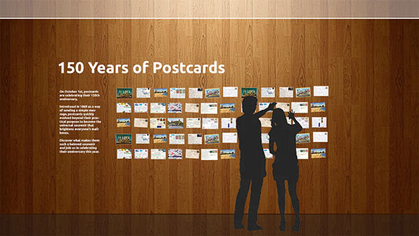 UPU 150 years of postcards exhibition