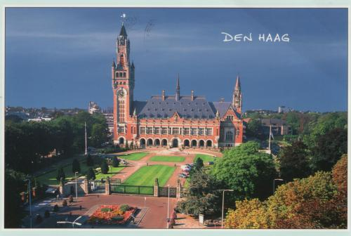 The Peace Palace in the Hague. The International court of Justice