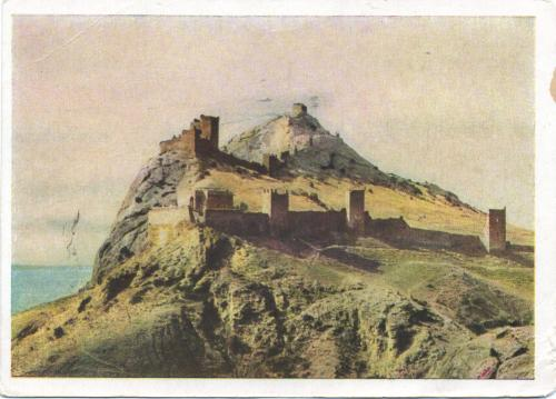 Genuese fortresses on the Crimea.
